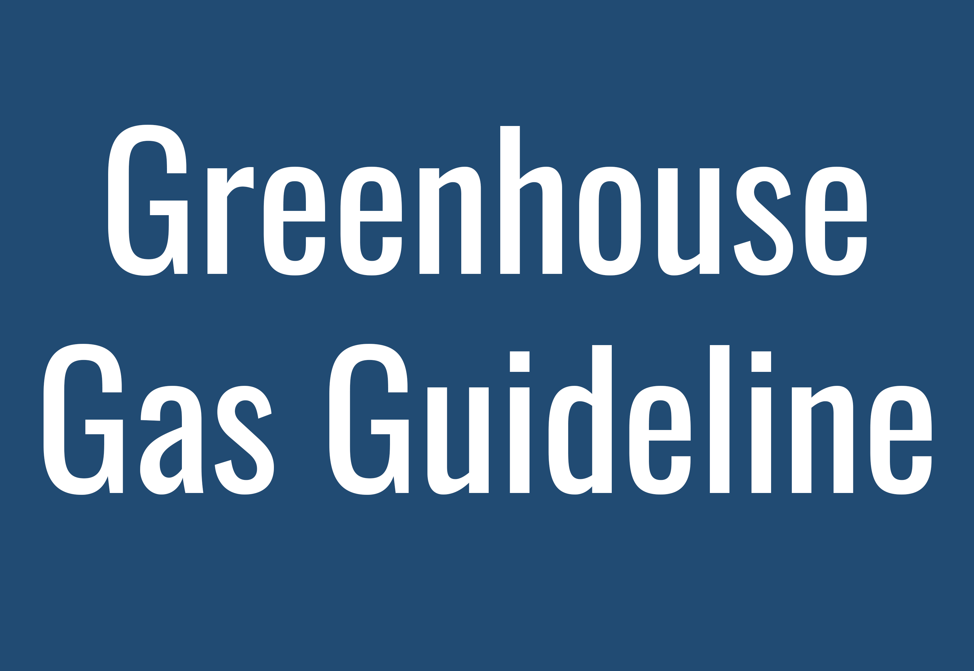 EPA releases greenhouse gas guideline