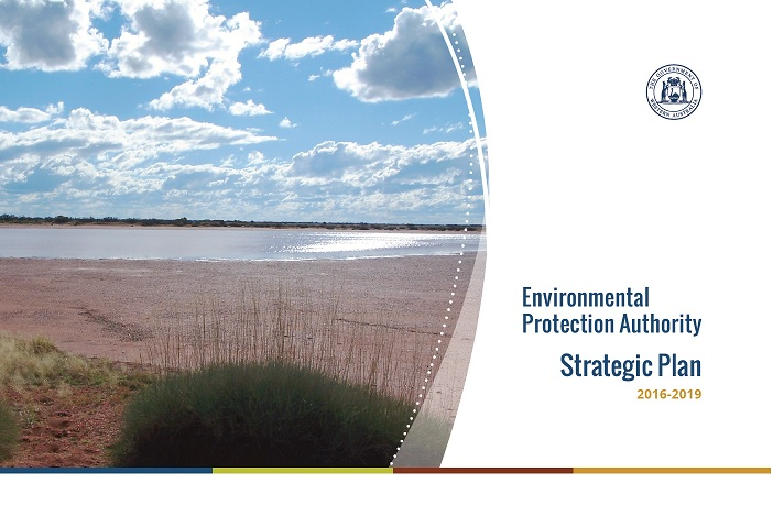 Image of the front cover of the EPA's 2016-2019 Strategic Plan